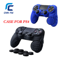 Case for ps4 controller skin case cover with 8 thumb grips anti slip silicone skin grip.jpg 250x250