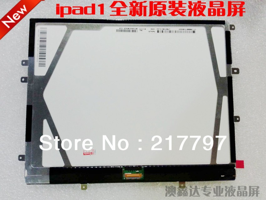 Подробнее о 100% Original For iPad 1 Lcd Screen Display Replacement Free shipping LP097X02-SLAA 100% new lcd screen display for ipad mini without dead pixels by free shipping