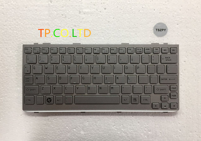 Neue US Tastatur Für Toshiba Mini = NB 300 NB 305 NB305 NB300 Silber ersatz mit rahmen