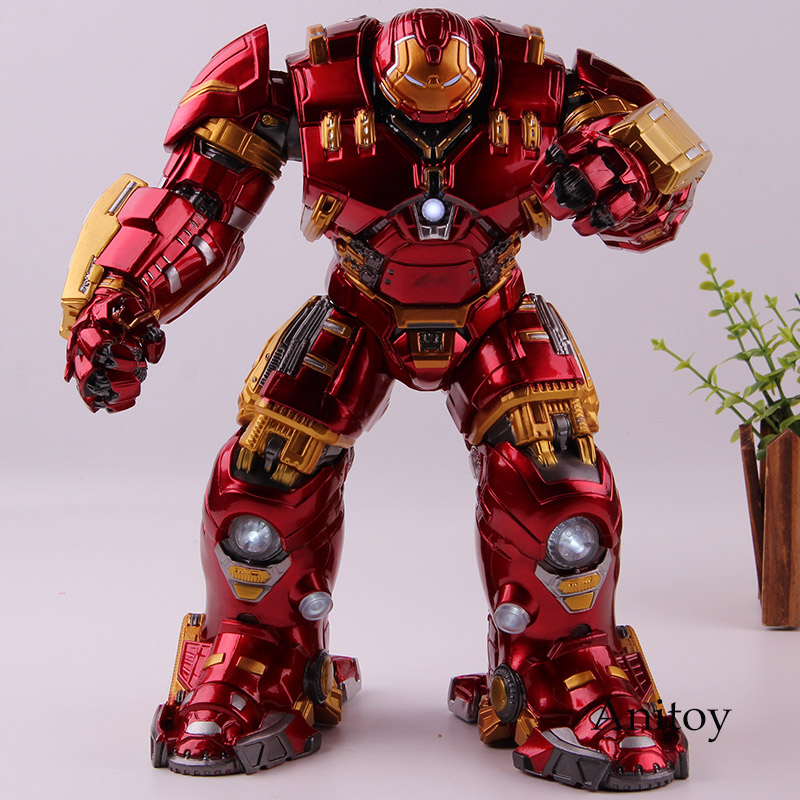 Avengers: Age of Ultron Mark44 Hulkbuster Hulk Buster Figure Lighting PVC Marvel Action Figure Collection Model Toys for Boys original full set action figure mms357 avengers age of ultron 1 6th scarlet witch wanda django maximoff figure doll model