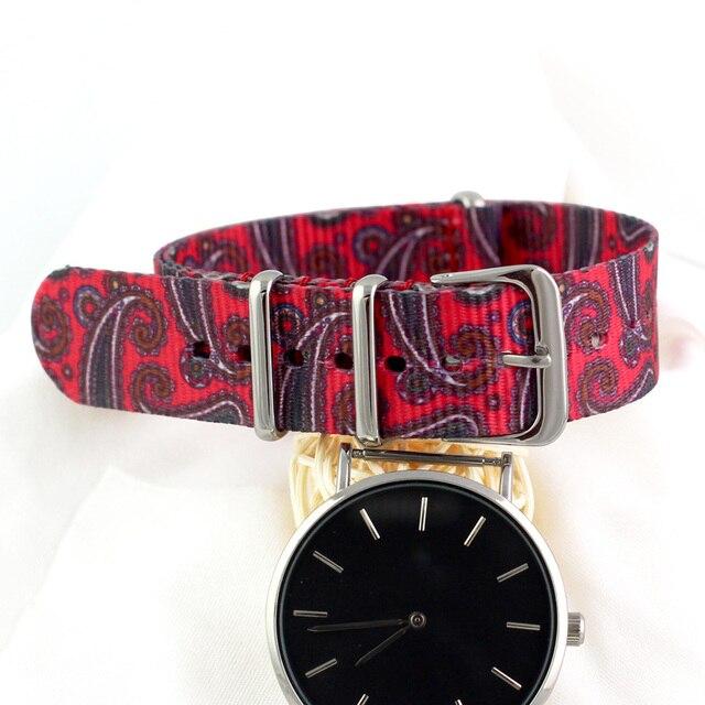 For Nato Nylon Watch Strap 18mm Watchbands Belt Metal Buckle Army Sport Watchban