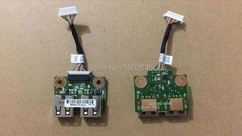 Darmowa wysyłka oryginalny nowy oryginalny laptop interfejs USB płyta główna do HP DV5-2000 USB mały płyta z kablem 6017b0264801 tanie i dobre opinie Lcd zawiasy metoopan FOR HP