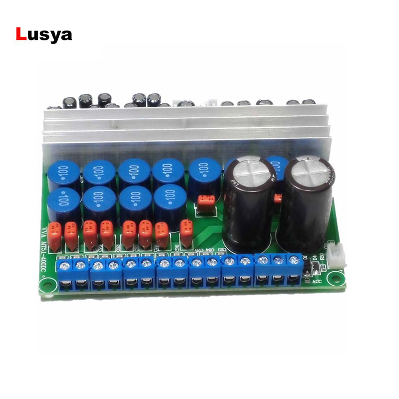 цена TPA3116 Stereo Digital Power Amplifier Board 6 Channels Upgrade TPA3116 Digital Amplificador Board G2-008