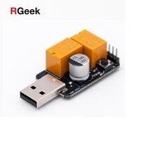 2018 Hot Sale USB Watchdog Card Module Timer One Button Boot Blue Screen Restart For Computer