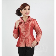 Chinese Traditional Coat Women's Silk Satin Jacket  Size: M-3XL m 3xl