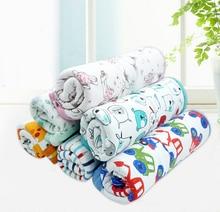Soft Double Layer Newborn Toddler Baby Boys Girls Portable Blanket Bedding Blanket Wrap Swaddle Bath Towel Receiving Blankets