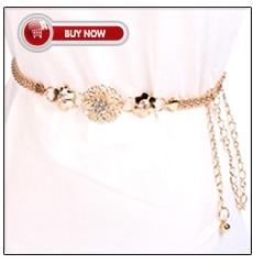 a1802642e488 Cinturón de decoración chapado en oro de cadena de cintura de Metal de moda  de 2018 para vestidos de mujer cinturón de diseño de cadena de Metal para  niñas