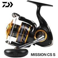 DAIWA Original MISSION CS S Spinning Fishing Reel 2000S 2500S 3000S 4000S 3+1BB TWIST BUSTER II Saltwater GEAR 5.2:1