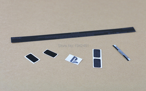 Image 3 - Lable מדבקת קליפת דיור שחורה באיכות גבוהה 5 סטים\חבילה OCGAME חותמות מקרה דיור CUH 1001A ps4