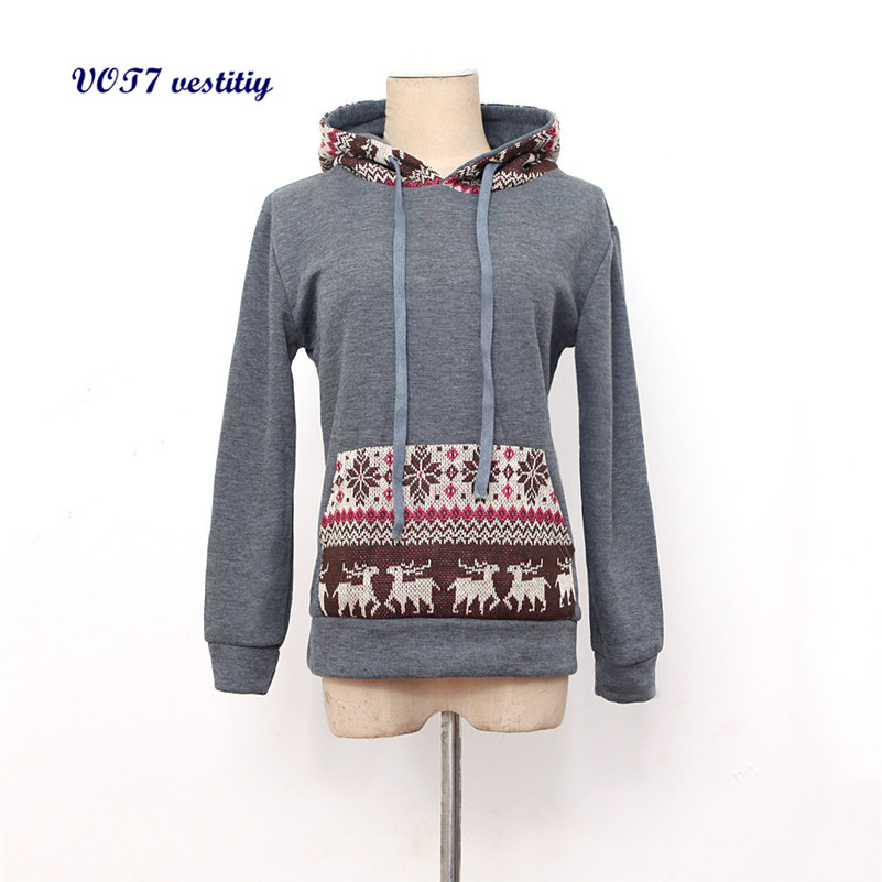 Popular Women Christmas Sweatshirts Hooded-Buy Cheap Women ...