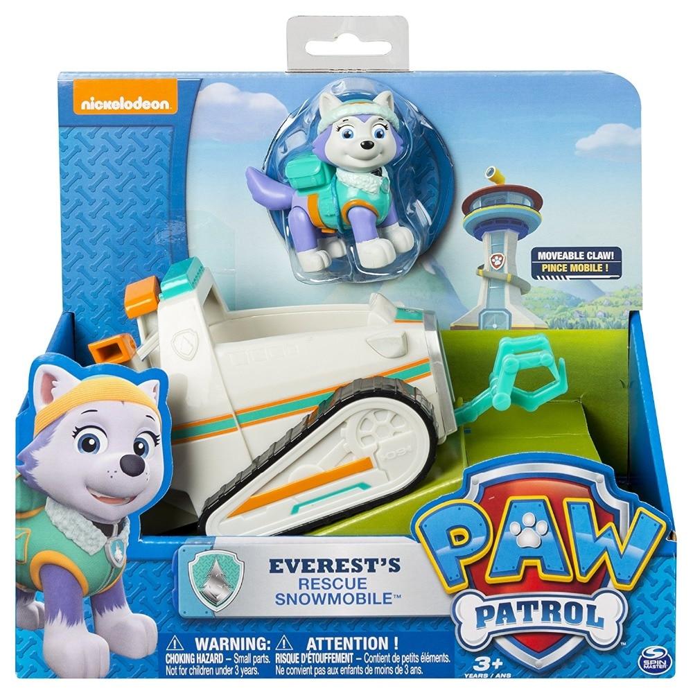 Genuine Paw PATROL CHASE Marshall Rocky Zuma Skye Everest Tracker Vehicle Car KIDS Toy Figure Doll Christmas Birthday Toys 1pc