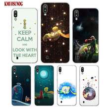 Transparent Soft Silicone Phone Case the little prince rose for Samsung Galaxy S10 S10e Plus S10+ M10 M20 Cover
