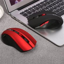 Portable Wireless Mouse Optical USB 2.4G Computer Mouse Adjustable 2400DPI 6 Buttons Gaming Mouse Gamer PC Mice for Laptop