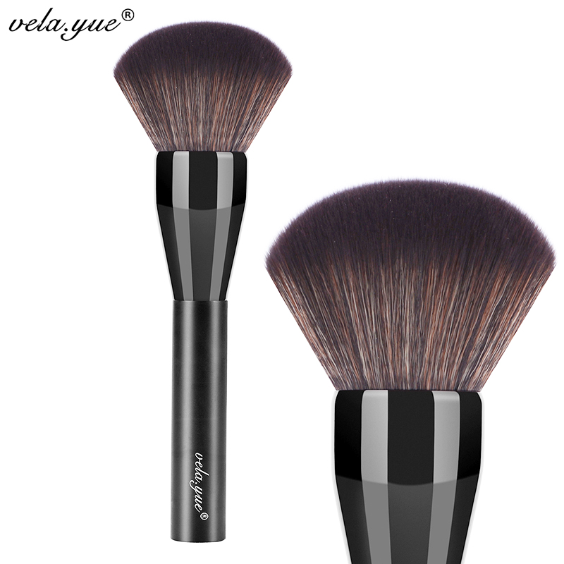 vela.yue Pro Powder Brush Супер Вялікі Face пэндзля для макіяжу