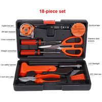 High Quality 18PCS Home Tools Household Tool Set Home Repair Tool Set Hand Tools Boxes Set Dropshipping LC
