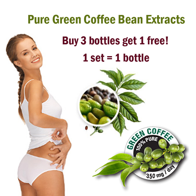 Buy 3 Get 1 Free Green Coffee Bean Extract Diet Weight Loss