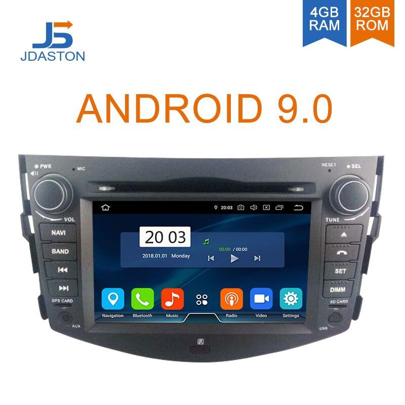 Lecteur DVD de voiture JDASTON Android 9.0 pour Toyota RAV4 RAV 4 Navigation GPS 2 autoradio autoradio stéréo Auto Octa cœurs 4G + 32G RDS