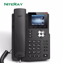Teléfono SIP con vídeo multimedia, centro de llamadas telefónicas con cable VoIP, nuevo diseño