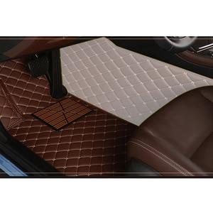 Image 3 - kokololee Custom car floor mats for Honda All Models CRV XRV Odyssey Jazz City crosstour civic crider vezel fit Accord car mats