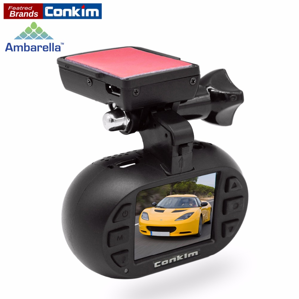 Conkim Dash Cam DVR Car Recorder Ambarella A7 OV4689 GPS Registrar 1296P Auto Camera+CPL/Hard Wire kit Optional MINI 0903 Plus conkim novatek 96655 dvr dash cam camera wifi gps auto registrar 1080p full hd video recorder 24h parking guard mini 0903 nanoq