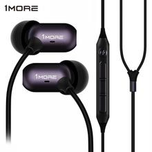 Xiaomi 1MORE E1002 3.5mm In-Ear Headphones Music Earphone Line Control Magnetic Earbud w/Mic for Android IOS Smart Phone Headset 1more 1m301 dynamic driver in ear earphone 80% metal diaphragm with microphone control of volume for ios
