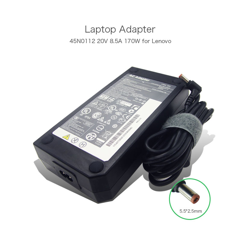 Best Selling In Russia 20V 8.5A 170W 45N0112 45N0113 AC Adapter Charger for Lenovo Y500 Y500N W700 W701 Laptop Power Supply