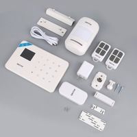 KERUI G18 English Russian Voice GSM Alarm Autodial Home Security And Fire Protection Alarm System IOS