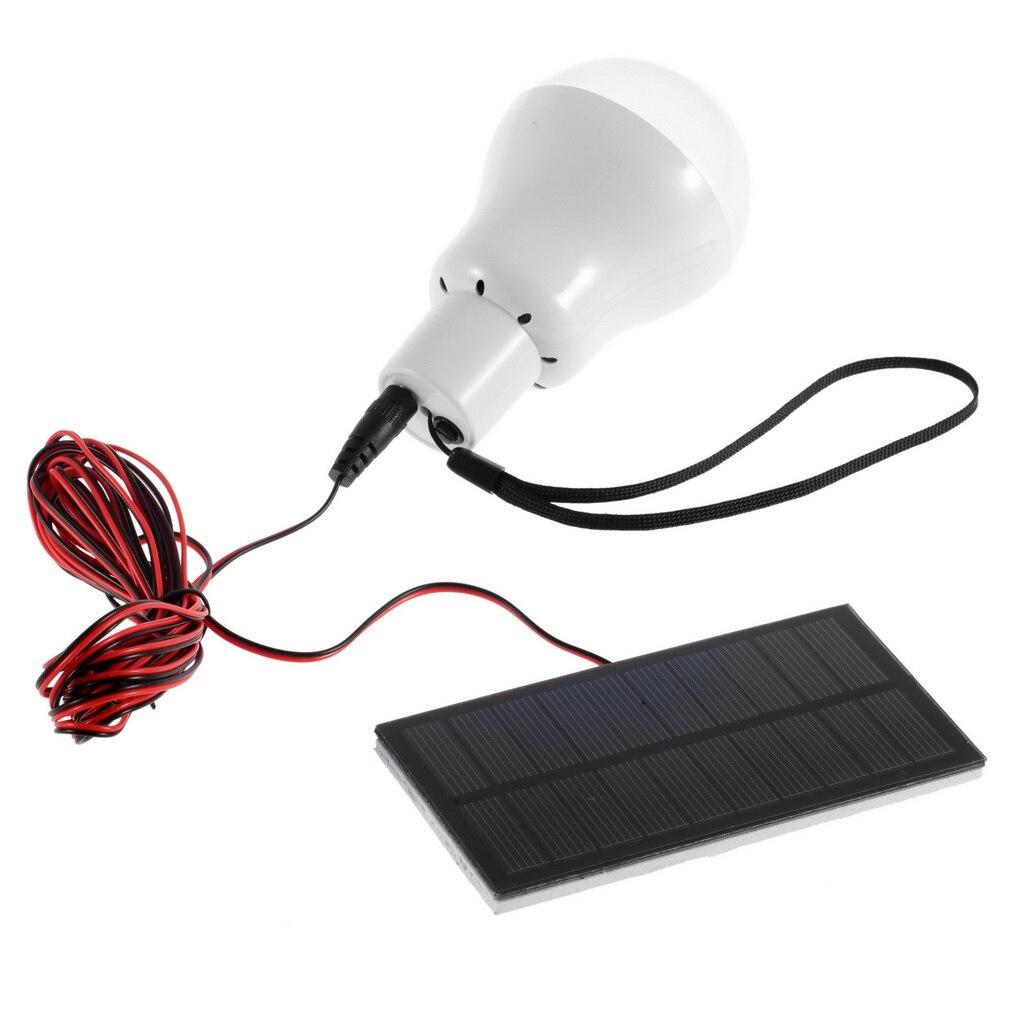 Солнечный Мощность ED светодиодные лампы Открытый/Indoor Системы Освещение 1 лампы солнечные панели малой мощности лагерь ночь путешествия 150 л...