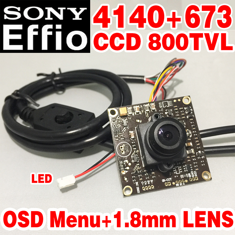 1.8mm big Wide Angle Finished HD Monitor chip module 1/3