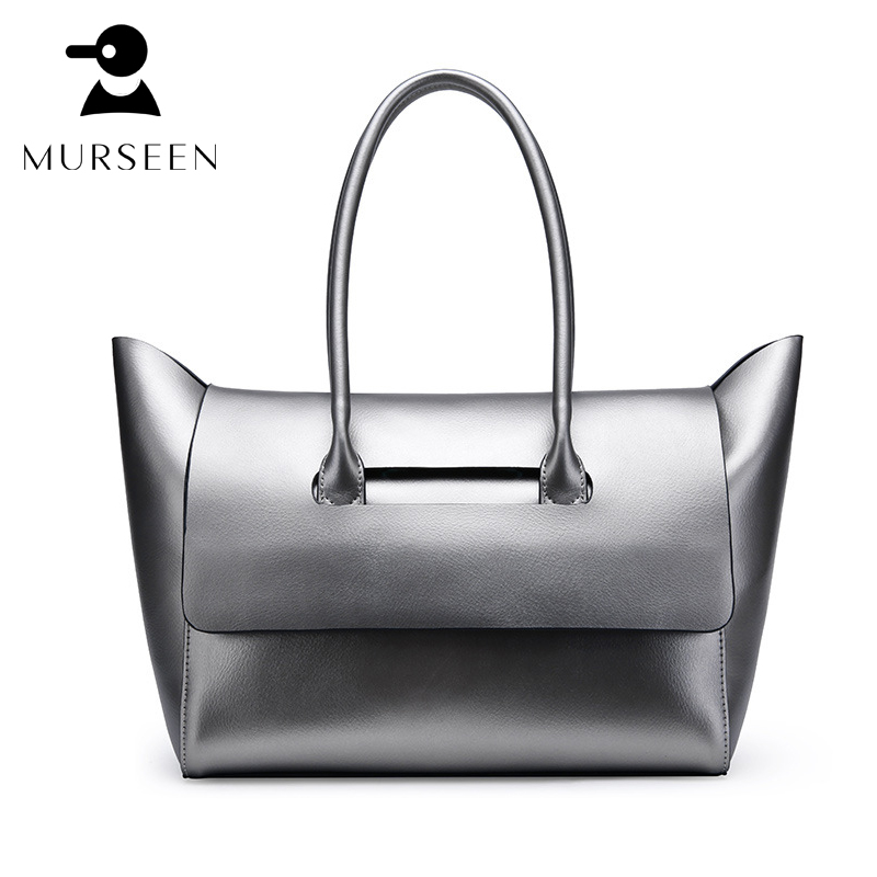 Genuine Leather Ladies HandBags Women Genuine Leather bags Totes Shoulder Bag Hign Quality Designer Luxury Brand Bag Golden M1 ladies genuine leather handbag 2018 luxury handbags women bags designer new leather handbags smile bag shoulder bag