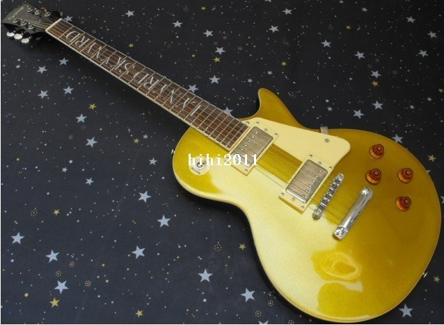 wholease free shipping new arrival yellow electric guitar