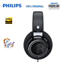 Philips SHP9500 fever HIFI computer phone headsetwith 3 meter long headset for Xiaomi Samsung S10 Support official verification