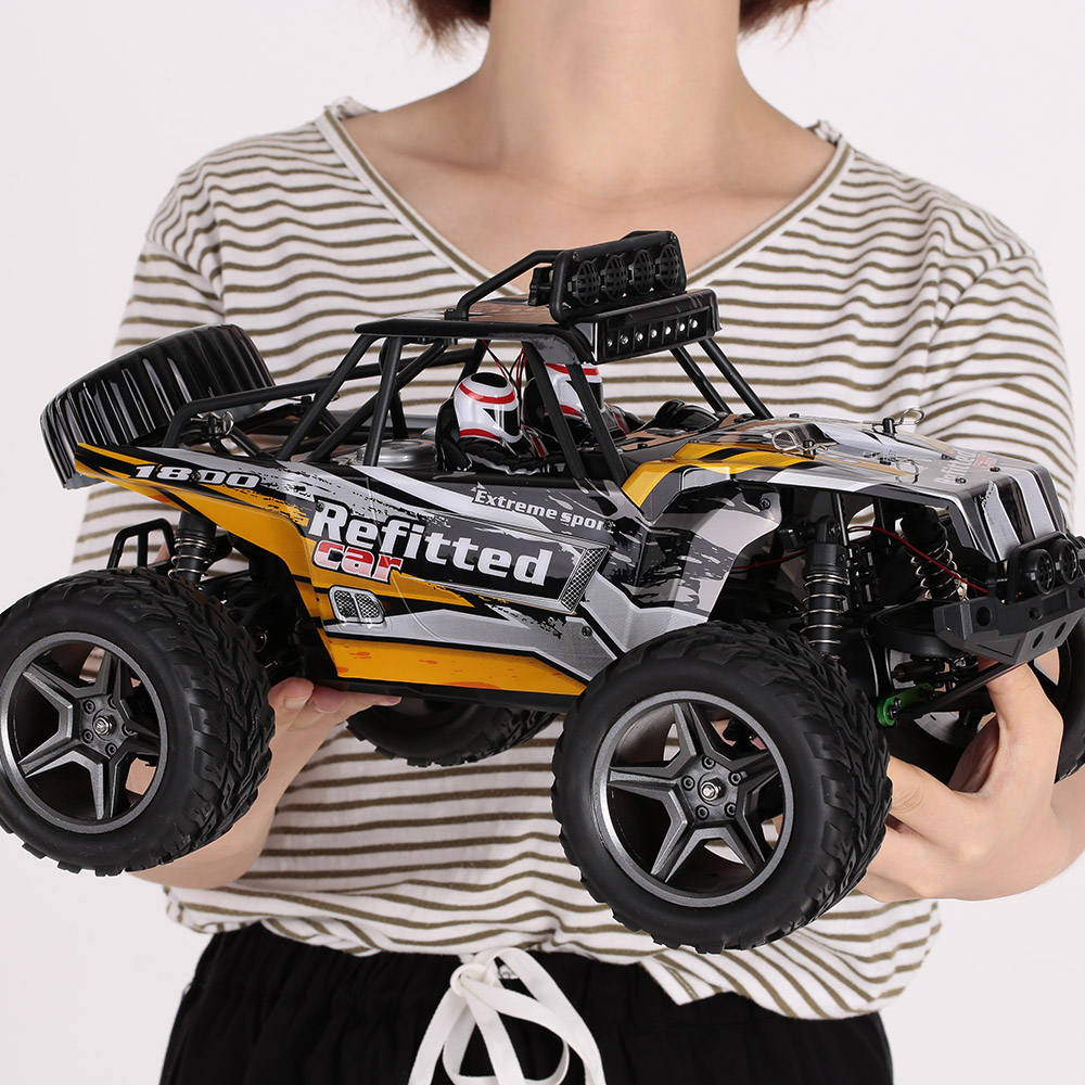 Wltoys RC Car Toys for Children A343 1:12 2.4GHz 2WD 35km/h High-speed RC Car with Headlight Desert Off-road Crawler RTR hsp bajer 5b 1 5th 2wd rtr 26cc engine gasoline off road buggy 94054
