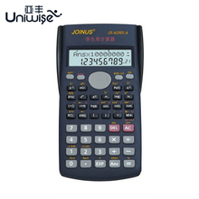 Function Calculator Uniwise Handheld Multi-function 10+2 Digital Display 2-Line LCD Scientific Calculator, Shipping No Battery