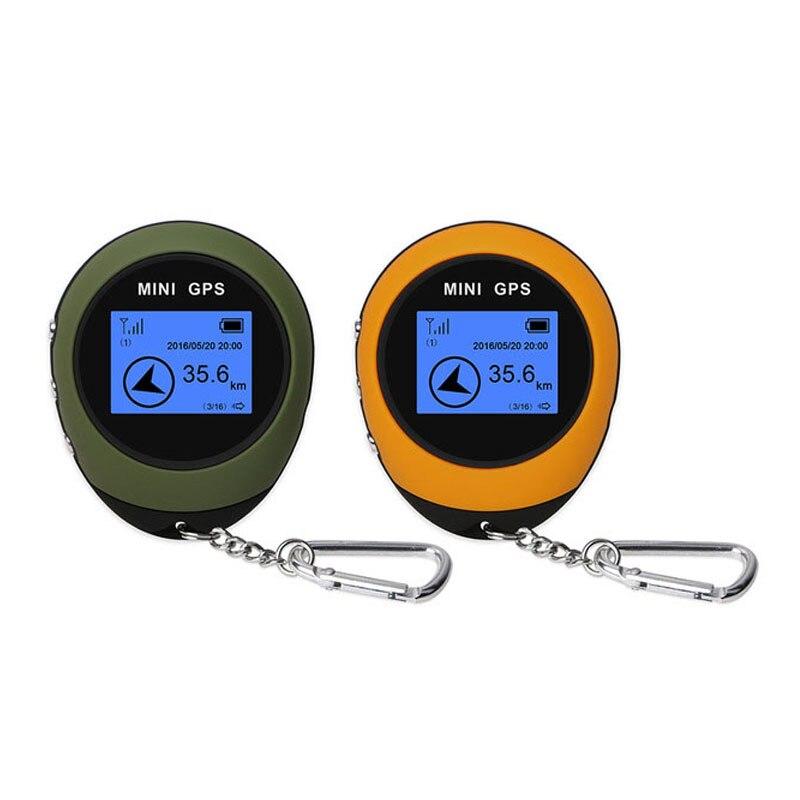 Mini GPS Navigation PG03 Mini GPS en temps réel porte-clés de poche USB boussole de charge pour Sport de plein air voyage GPS piste