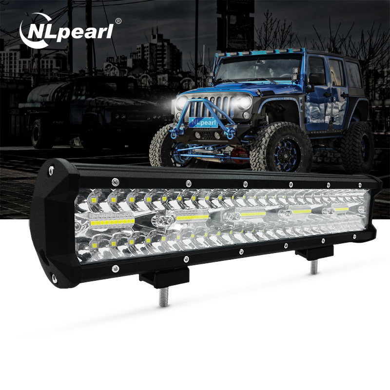 Nlpearl 300w 30000lm 15 Inch Zes Led Light Bar Offroad Led