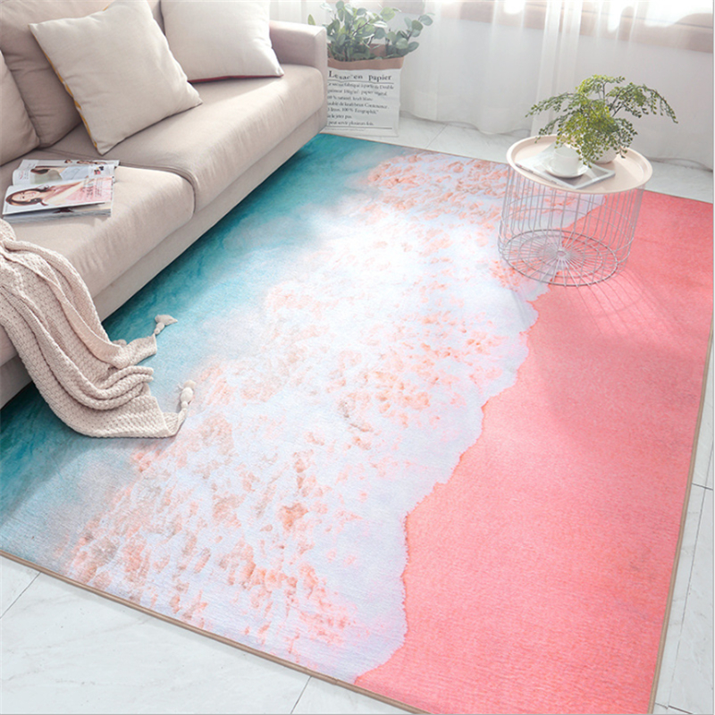 AOVOLL Nordic Small Fresh Environmentally Friendly Chenille Hairless Mat Carpets For Living Room Bedroom Rugs Floor MatsAOVOLL Nordic Small Fresh Environmentally Friendly Chenille Hairless Mat Carpets For Living Room Bedroom Rugs Floor Mats