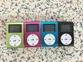 Free shipping!!! Dropshipping! Mini Clip MP3 Player With Screen support TF card up to 32GB