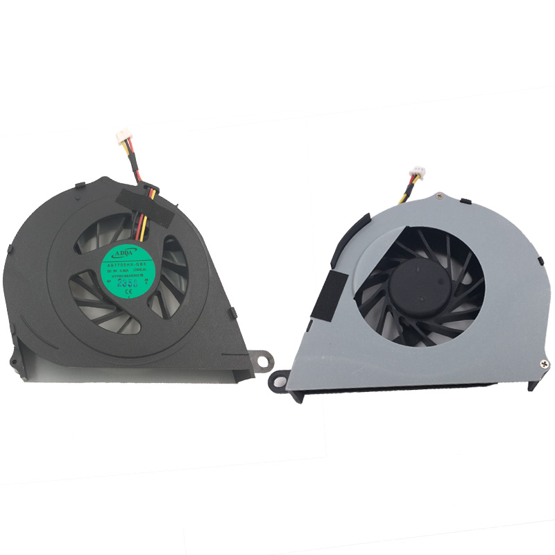 Купить с кэшбэком Brand New Laptop Cooling FAN for TOSHIBA Satellite L755 L755D PN:AB7705HX-GB3 AB5005UXR03 CPU Cooler/Radiator Replacement