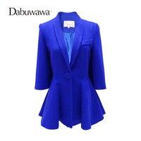 Dabuwawa Two Colors Women Blazer Autumn Outwear
