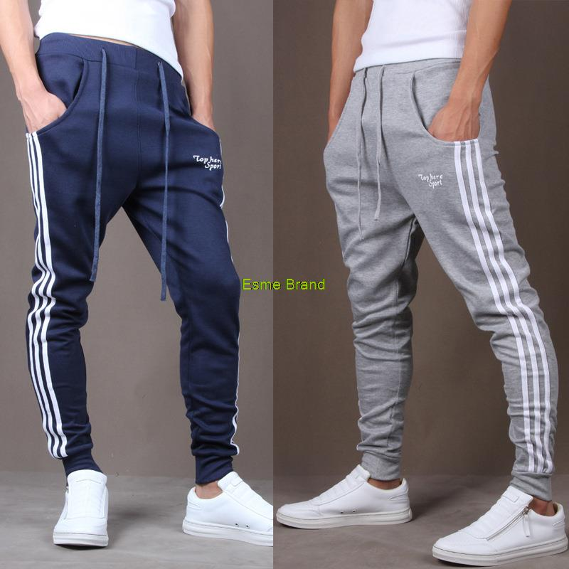 homme joggers calcas sport Maigre pantalons pantalons 2015 hommes entrejambe hip hommes nouveau hop pantalon moletom sarouel pour mode dans hommes baggy XTaROTx