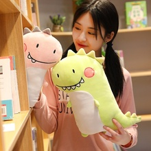 Hot Cartoon Dinosaur Plush Pillow Cute Meng Couple Animal Toy Doll Child Sleeping Appease Girl Birthday Gift