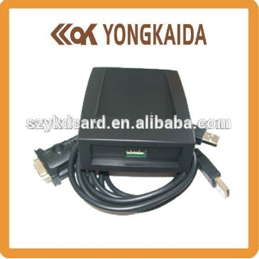 Yongkaida Desktop 13.56mhz M1 chip interface rs232 nfc iso14443 reader ...