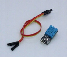 DHT11 Digital Temperature And Relative Humidity Sensor Module With Board And Cable For Arduino DIY Starter Kit