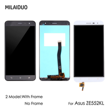 LCD Display For Asus ZenFone 3 ZE552KL Z012D Z012DC Z012DA Touch Screen Digitizer Assembly Replacement Black No/with Frame 5.5'' все цены