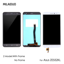 Original LCD Display For Asus ZenFone 3 ZE552KL Z012D Z012DC Z012DA Panel Touch Screen Digitizer Assembly With Frame  5.5''