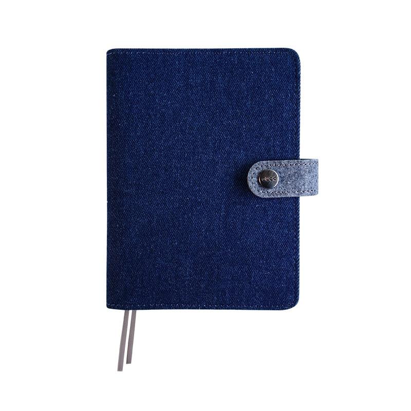 Image 5 - Clássico pano escritório escola notebook artigos de papelaria  vintage sem pessoa aglutinante diário agenda planejador semanal  organizador a5 a6Cadernos
