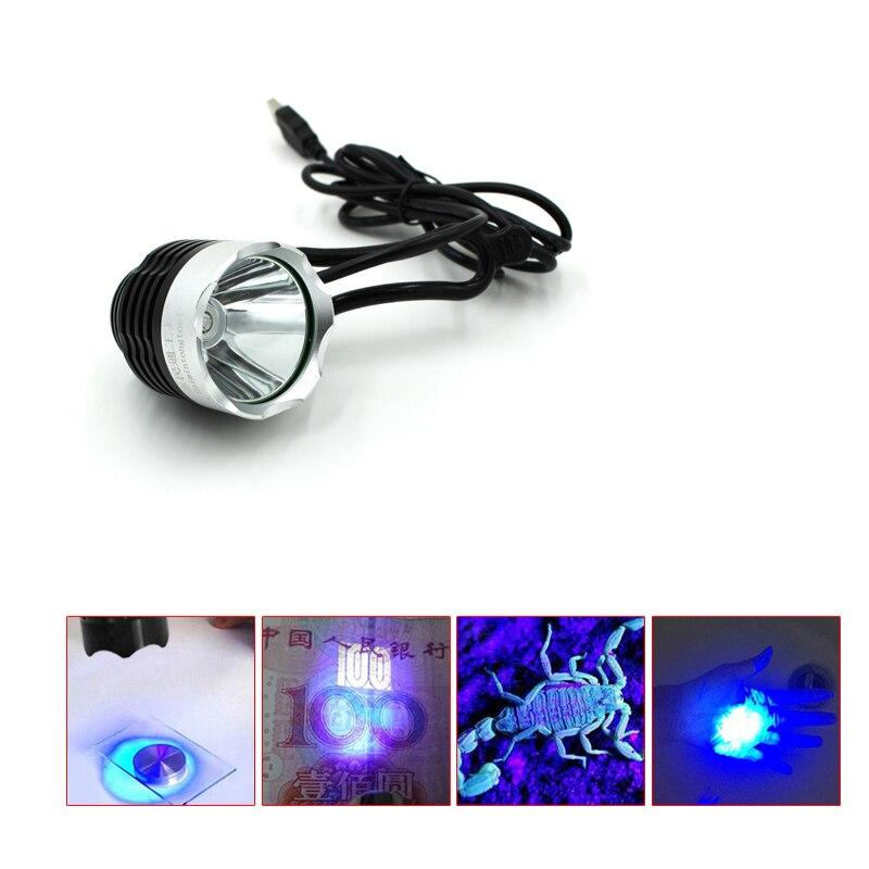 Téléphone USB mini USB UV colle durcissement lampe led UV lampe carte mère puce IC BGA de réparation