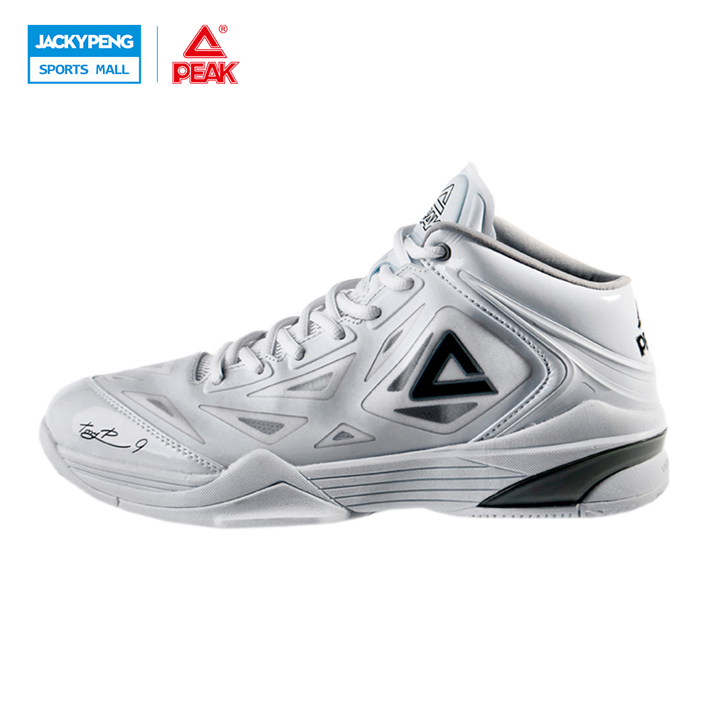 PEAK SPORT Tony Parker I TP9 Professional Player Basketball Shoes GGradient Dual FOOTHOLD EASYMOVE Tech Men Sneakers EUR 40-50 peak sport star series george hill gh3 men basketball shoes athletic cushion 3 non marking tech sneakers eur 40 50