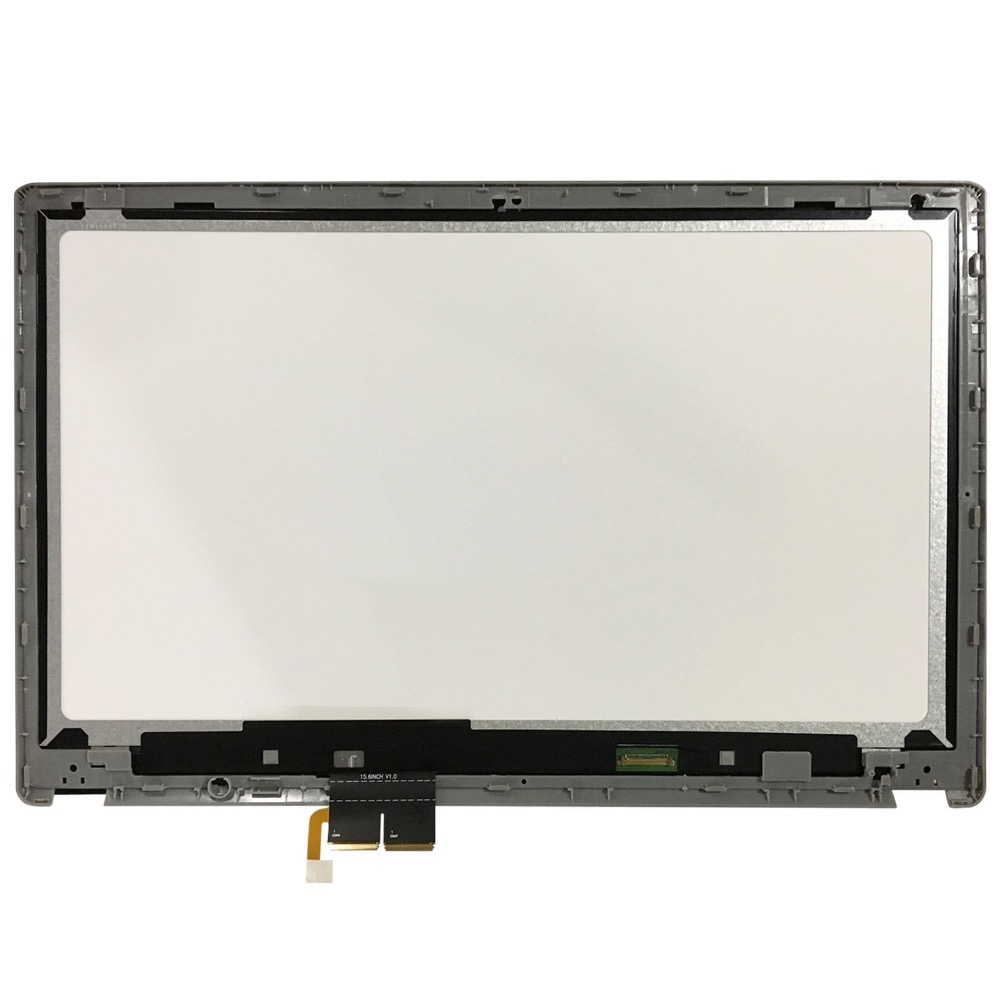LCD Touch screen Assembly 15.6B156XTN03.1 For Acer Aspire V5-571p Ms2361 Repair display digitizer bezel panel with frame 11 6 lcd assembly for acer aspire v5 122p v5 132p ms2377 lcd display touch screen digitizer with frame display panel
